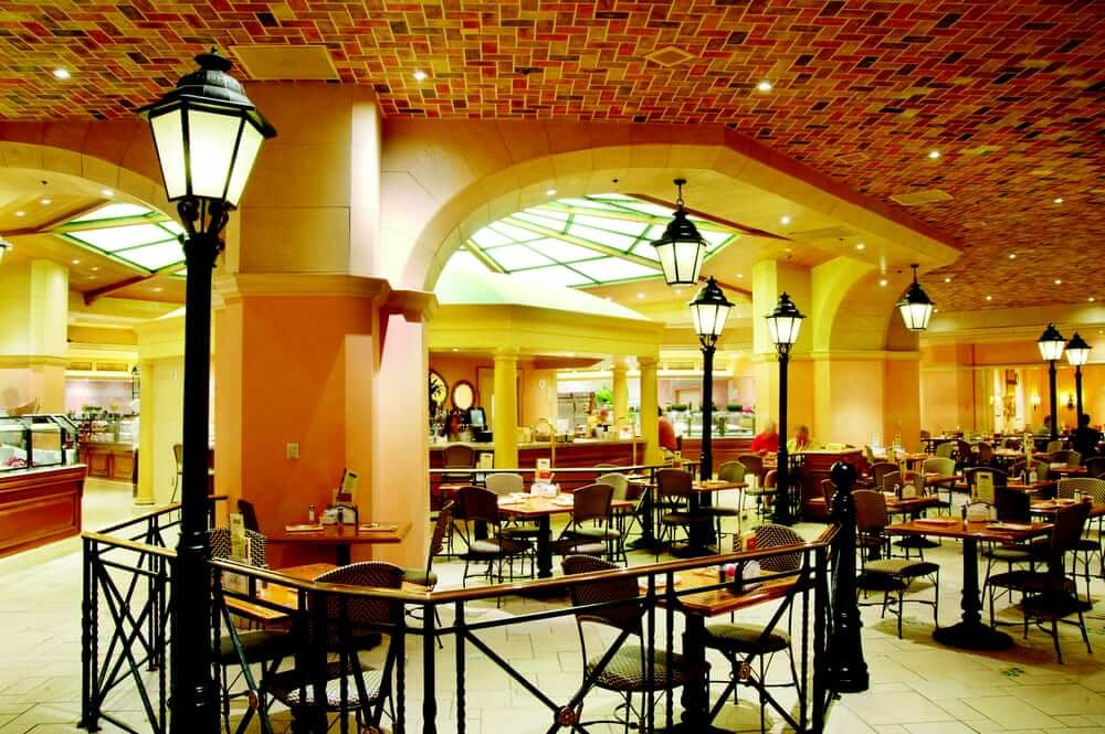 free bellagio buffet