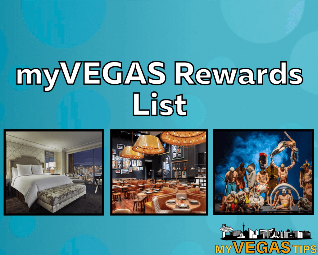 myvegas rewards list