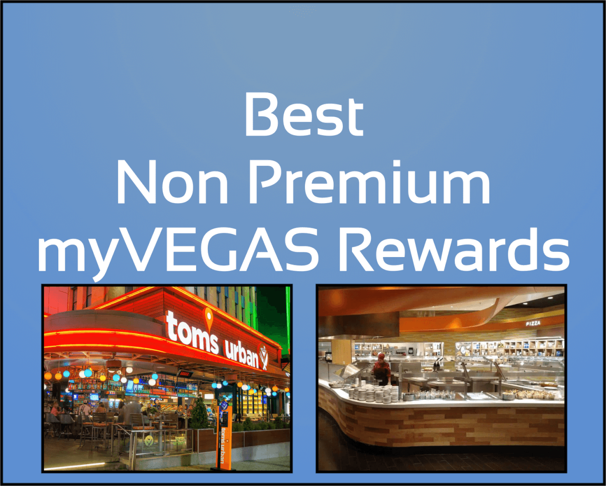 non premium rewards myvegas