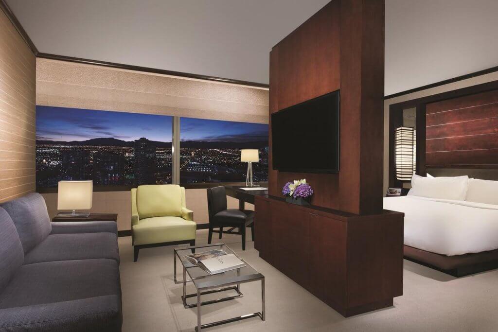 free vdara hotel room