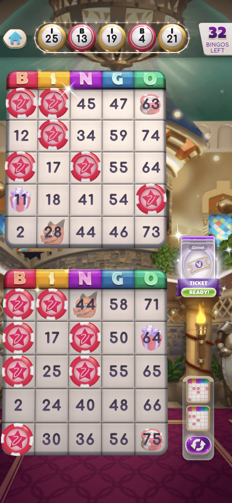 myvegas bingo board
